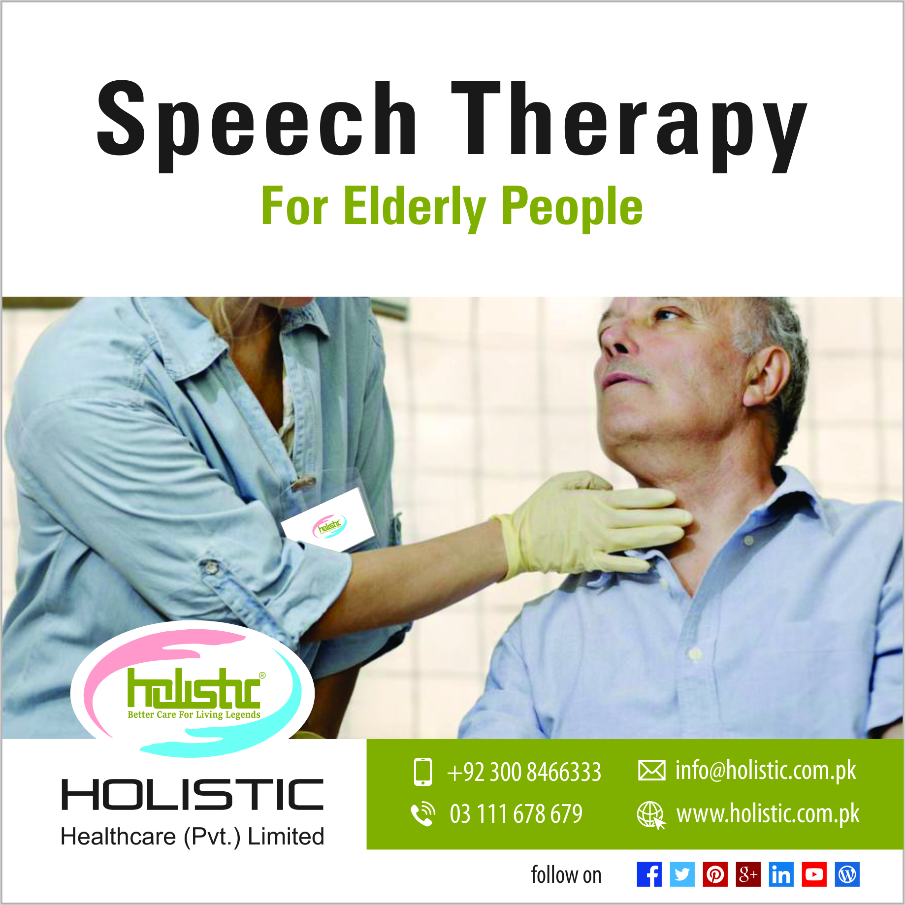 PSpeech Therapy for Elderly